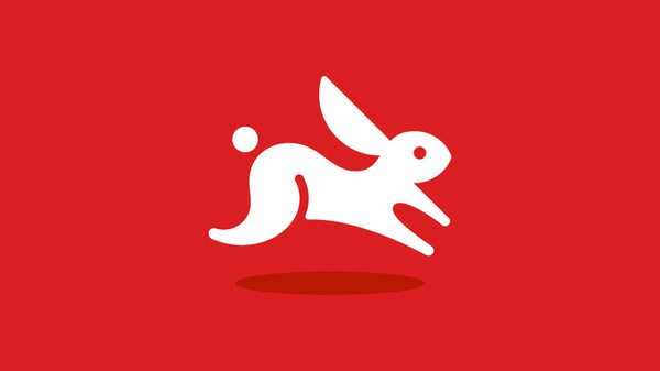 Visual Quickstart, by Ty Wilkins #inspiration #creative #red #bunny #icon #design #graphic #cute