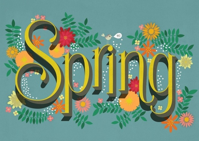 Martina Flor - Handsome Frank Illustration Agency #spring