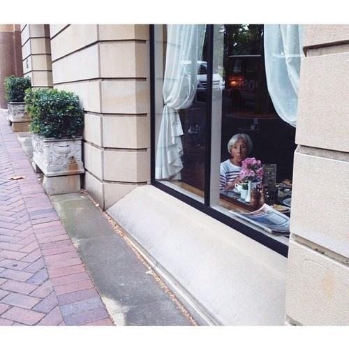 Tumblr #old #woman #breakfast #photography #portrait #window #female