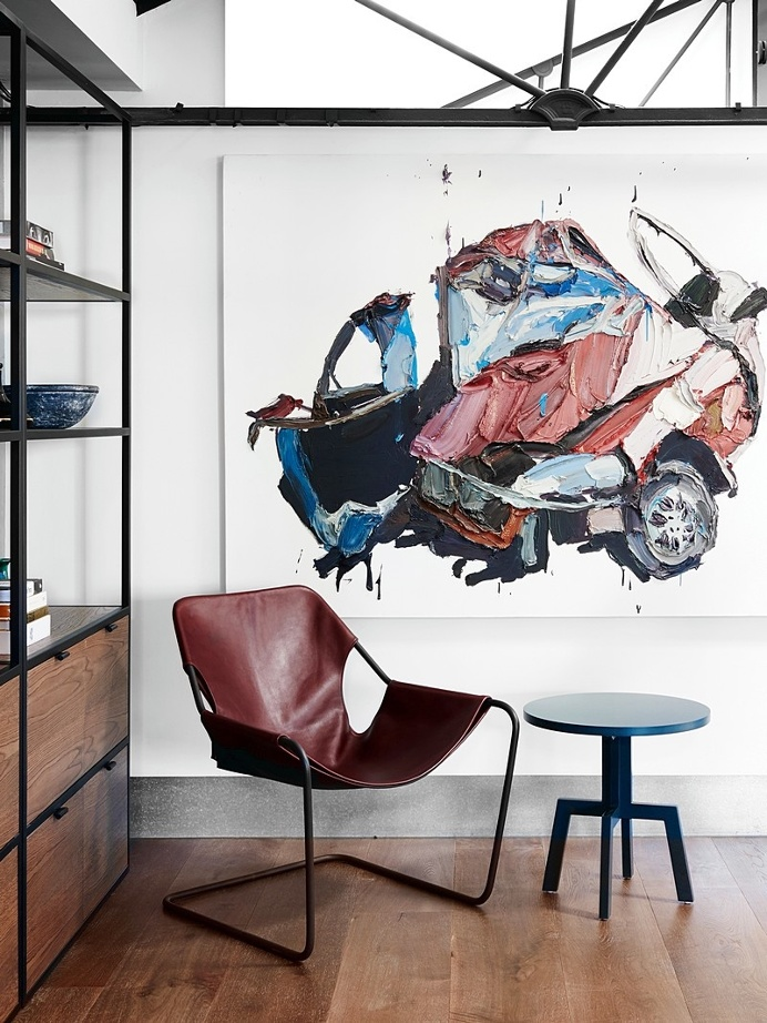 Richmond Residence – The Unique 80s Style Warehouse of an Art and Design Lover