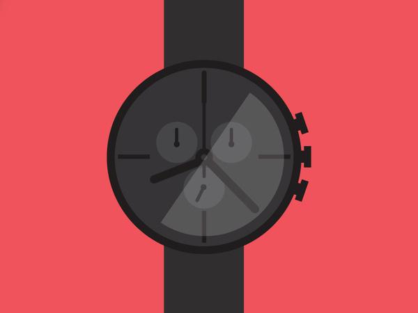 Baller Timepiece #digital #design #art #vector
