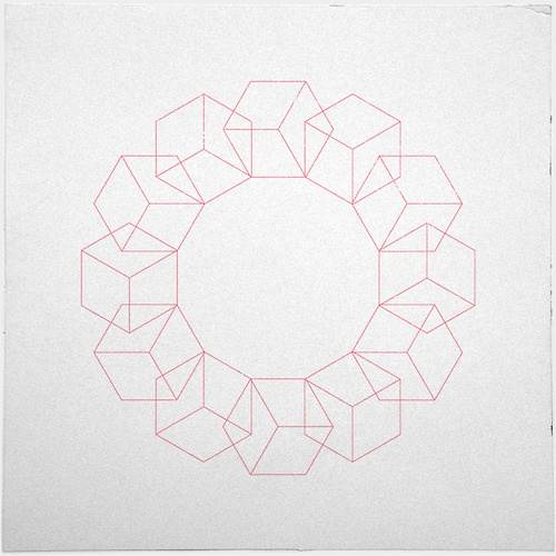 #347 Rolling – A new minimal geometric composition each day