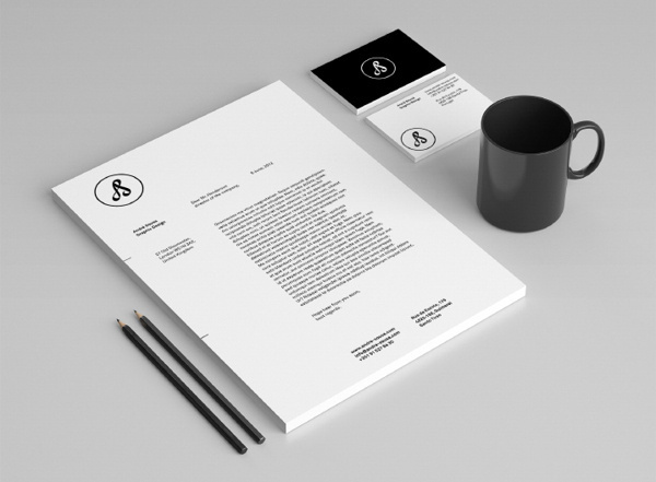 Personal Identity on Behance #branding #monogram #andr #identity #personal #sousa