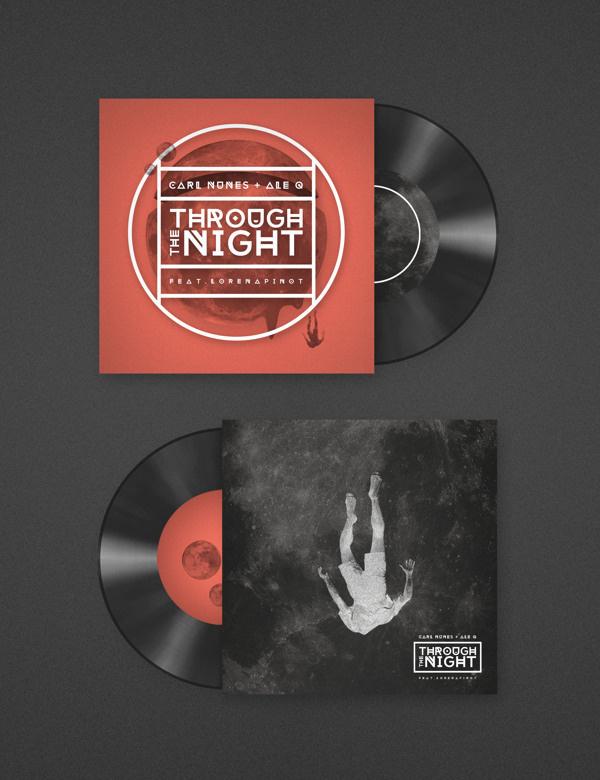 Carl Nunes + Ale Q #logotype #branding #cover #identity #music #logo #booklet #cd #typography