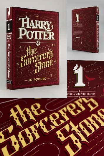hp1.jpg 600×900 pixels #lettering #design #book #custom #type #typography
