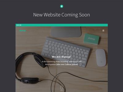 Alyoop Portfolio Website #agency #ux #portfolio #design #image #hero #studio #web