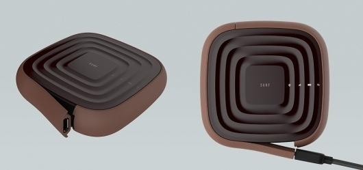 Empoise : Work : Surf #design #product #brown #industrial #soft #rounded