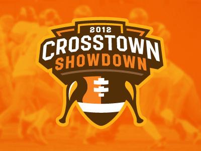 Crosstown_showdown #vector #badge #showdown #crosstown #logo #football