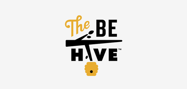 The Be Hive Logo, by Oscar Morris #inspiration #creative #design #graphic #bee #hive #logo