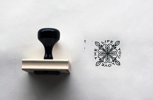 Live To Make #logo #stamp #impress