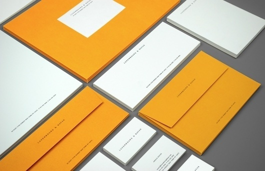 Watson & Company – High-res Showcase | September Industry #identity #stationery