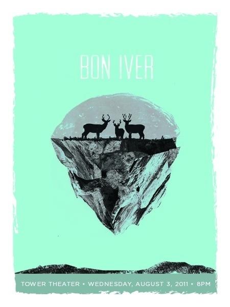 GigPosters.com - Bon Iver #poster