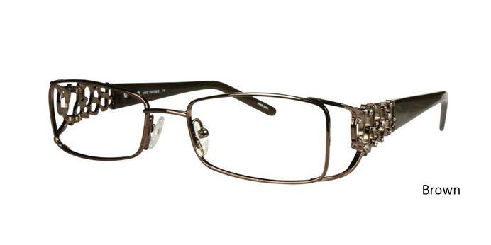 Brown Vivid Eyeglasses Vivid Boutique 5013.
