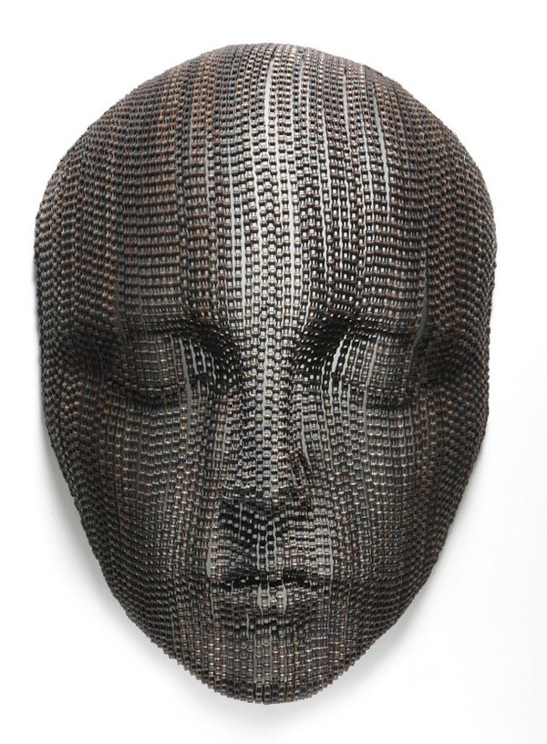 Bicycle Chain Sculptures by Young-Deok Seo #sculpture #art