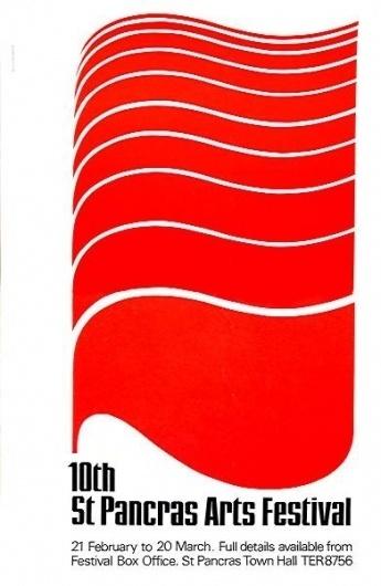 ken garland & associates:graphic design:st pancras #1964 #illustration #poster #typography