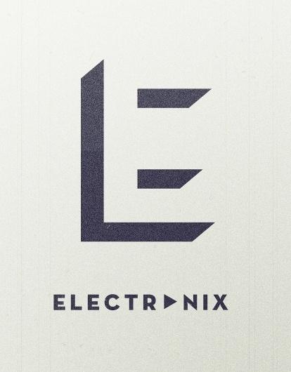 electronix-E-large.jpg (1000×1278) #brand #identity #blog #com #electronix #music #logo #lxrkan