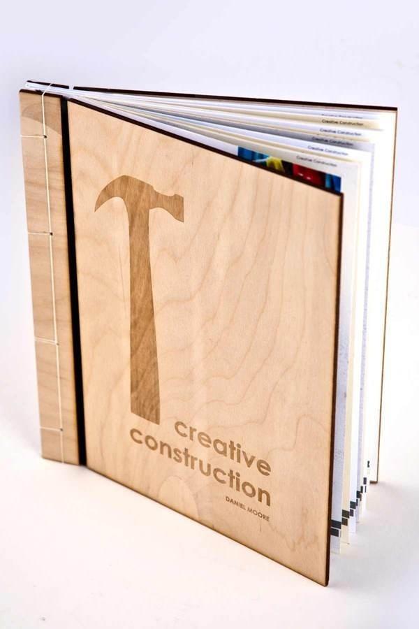 Creative Construction (concept book) on Behance #binding