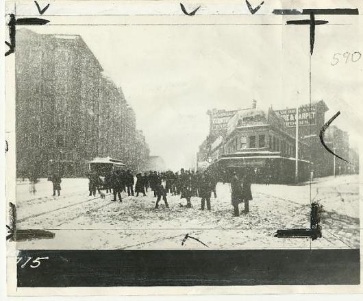 snow_market615x510.JPG (JPEG Image, 615x510 pixels) #san #snow #photography #vintage #francisco