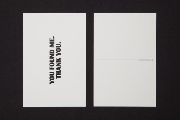 Thank You Too | Another Something #print #stationery