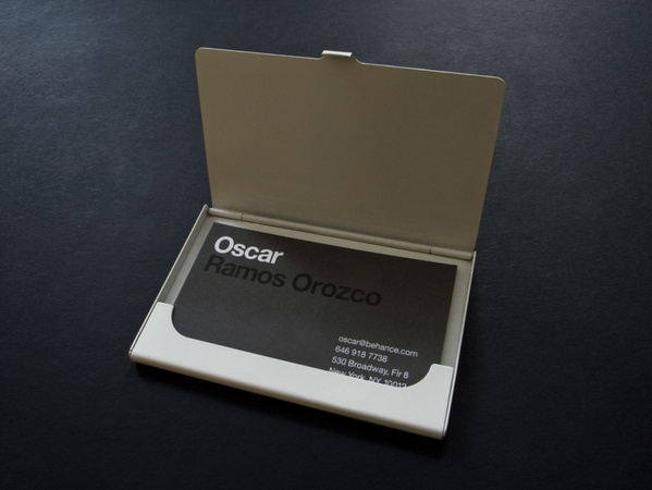 Behance Business Cards #card #oscar #business