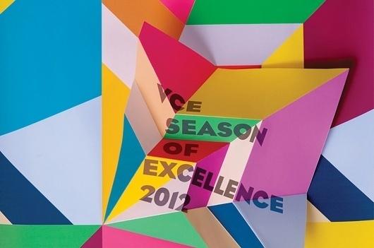 Graphic Design & Tattoos #2012 #color #typo #geometric