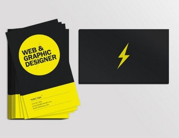 40 Inspirational Black Business Cards #identty #card #business