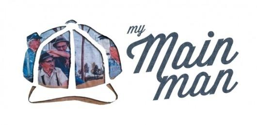 DESIGN- My Main Man #main #man #my #mixed #logo #media #collage #typography
