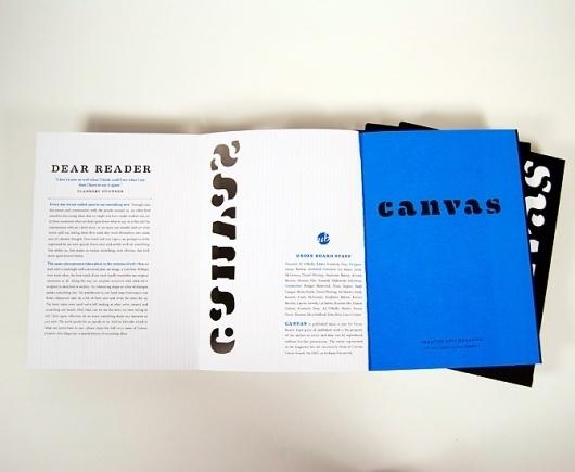Dever Elizabeth #fold #die #cut #cyan #print #book #out #typeface #canvas #magazine #eames