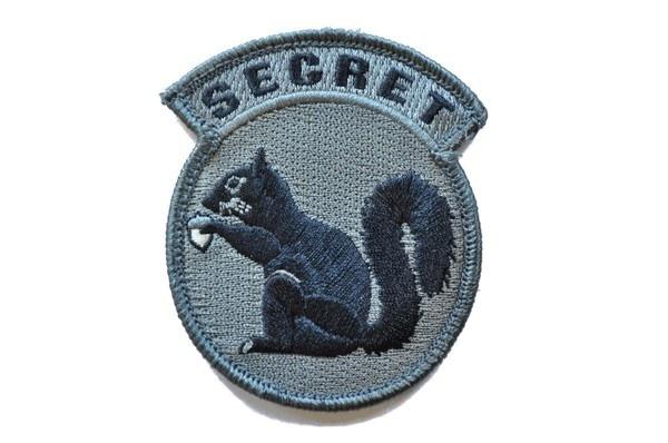 MSM Secret Squirrel Velcro Milspec Monkey Morale Patch #squirrel