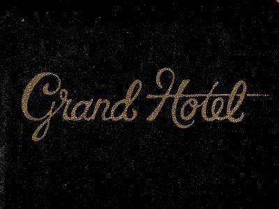 Grand Hotel Golden Type #type