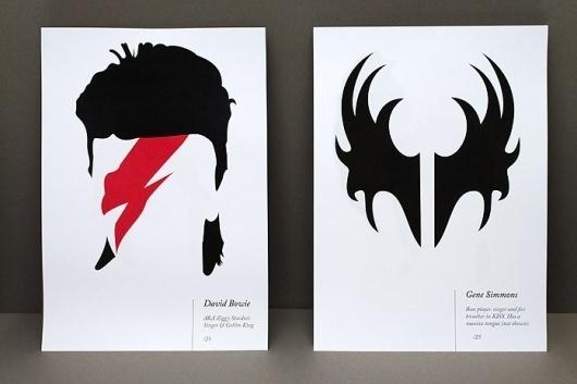 Jem Pomak | Graphic Designer #vector #rock #icons #illustration #bowie