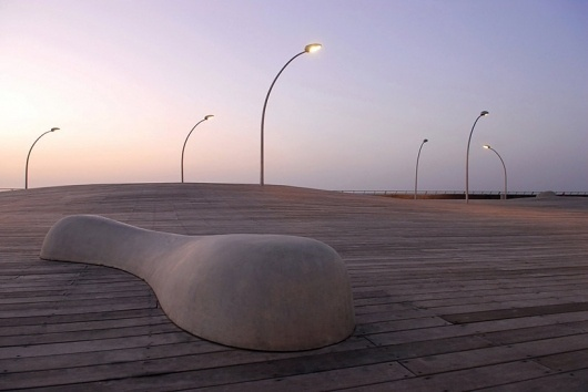 mayslits kassif architects: tel aviv port public space - wins rosa barba european landscape prize