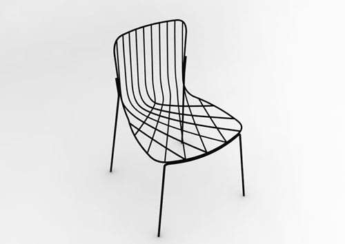 Get Out! Maille Outdoor Chair | Design Milk #chair #design #home