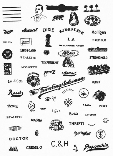 All sizes | The Traveling Salesman | Flickr - Photo Sharing! #logos #vintage