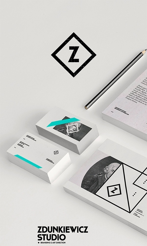 zdunkiewicz_studio_01 | Graphic Design #cards #business