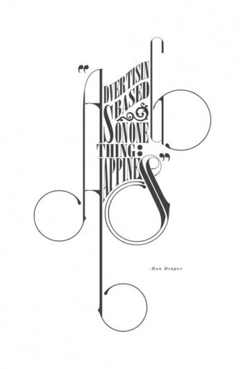 tumblr_m33esi0hOh1rrc2duo1_500.jpg (500×750) #quote #mad #men #typography