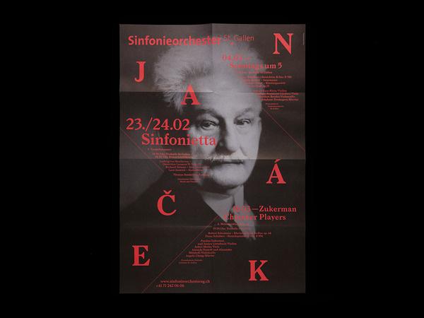 Bureau Collective – Sinfonieorchester St.Gallen #design #graphic #poster #typography