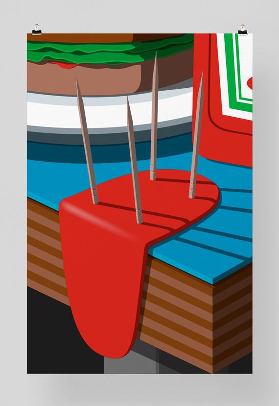 Herman Miller #miller #chair #pfffli #felix #poster #herman #eames
