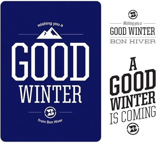 Bon Hiver Snowboarding | Neuarmy™ #bon #logo #logotype #hiver