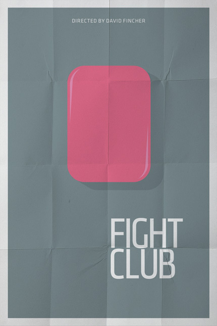 Fight Club #movie #poster #typography