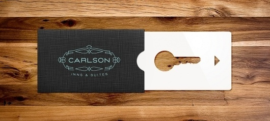 This Is Work | P. Eggleston #branding #card #print #concept #key #hotel #typography