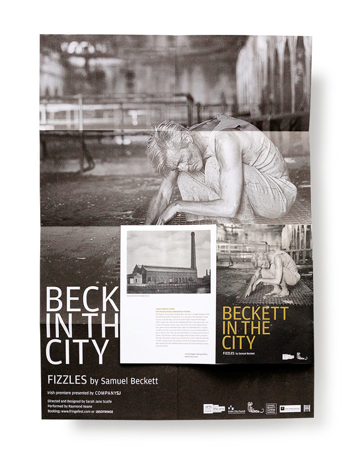Beckett in the City: Fizzles – #urbend.com #typographic #layout