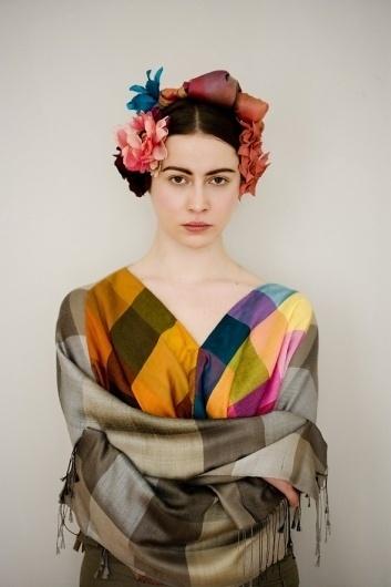 INKA - akainka.com #kahlo #flower #colorfull #jewellery #photography #portrait #multicolor #fashion #frida