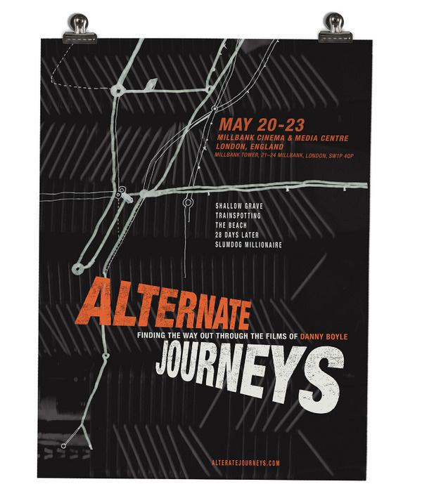 ALTERNATE JOURNEYS_film festival project #logo #branding #poster #brand design #exhibition design