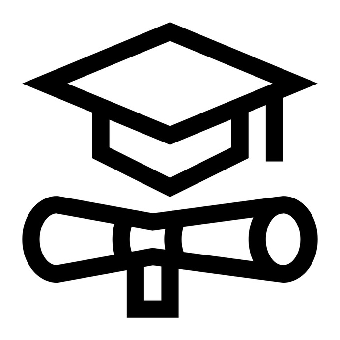 See more icon inspiration related to mortarboard, degree, graduated, graduate, cap, education, diploma and graduation on Flaticon.