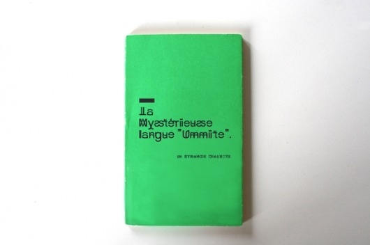 TYPEFACE PROJECT - Cyrielle Tricot #book #typeface #typography