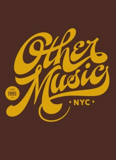 Typeverything.com - Other Music NYC by Tight Slice - Typeverything #lettering #script