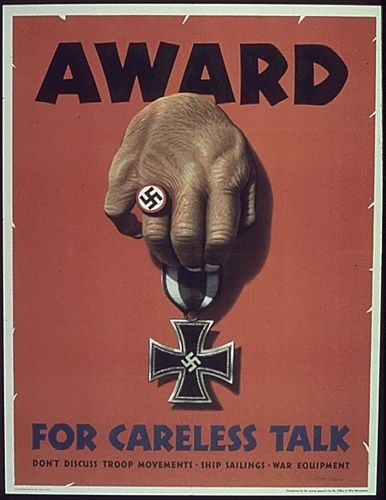 17-0716a | Flickr - Photo Sharing! #1940s #propaganda #ww2 #war #germany #illustration #poster #hand