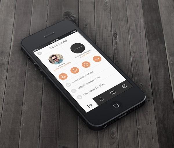 Design Trends 2013 Minimalist and Flat #interface #ui