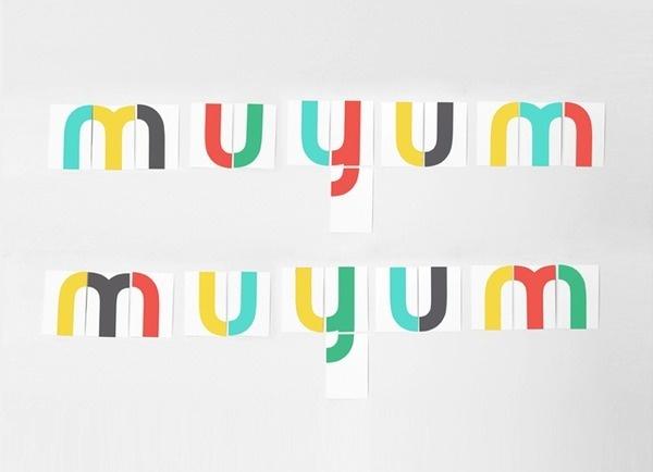 Muyum identidad coporativa para marca de comida para nixc3xb1os. Branding identity for children brand, food for kids. Designed by Tatabi #muyum #identity #tatabi